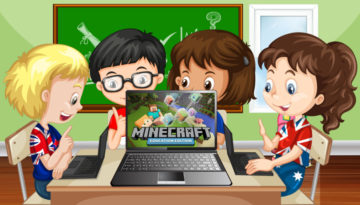 Запуск Minecraft: Education Edition